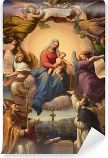 holy Mary and little Jesus from Vienna church Vinyl Wall Mural
