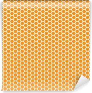 b4b2634e4761 Honeycomb seamless background. Simple seamless pattern of bees  honeycomb.  Illustration. Vector.