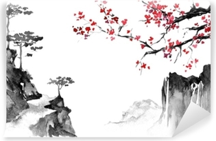 Japanese Wall Murals Peace And Ballance In Your Interior Pixers