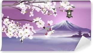 Japanese landscape Vinyl Wall Mural
