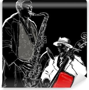 jazz band Vinyl Wall Mural