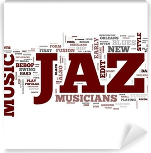 Jazz Music Vinyl Wall Mural