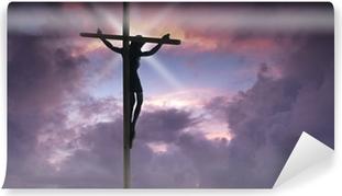 Jesus Christ on the Cross Vinyl Wall Mural