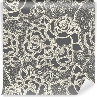 Lace seamless pattern Vinyl Wall Mural
