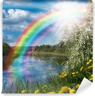 Rainbows Wall Murals The Natural Motifs Pixers We Live To Change
