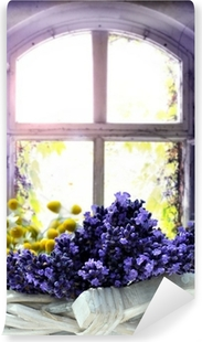 Lavendel Vinyl Wall Mural