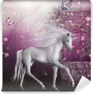 Unicorns Wall Murals Enter the fantasy land Pixers