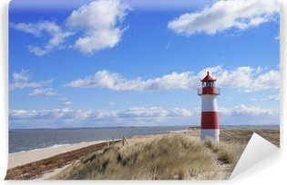 leuchtturm lighthouse sylt leuchtfeuer Dünen Dänemark Vinyl Wall Mural