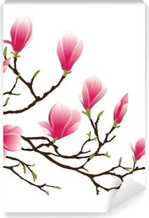 magnolia blossom Vinyl Wall Mural