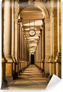 Mill colonnade at night Vinyl Wall Mural