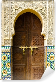 Moroccan architecture Vinyl Wall Mural