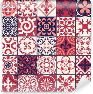 Moroccan tiles Pattern Vinyl Wall Mural