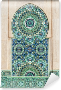 moroccan vintage tile background Vinyl Wall Mural