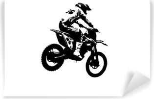 Motocross jumper Vinyl Wall Mural