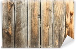 Mur en bois Vinyl Wall Mural