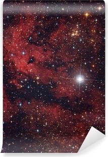 Cielo Rosso Di Notte.Nebulosa Rossa Nel Cielo Di Notte Sticker Pixers We Live To Change