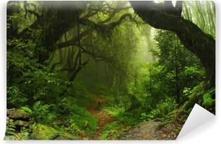 Nepalese jungle forest Vinyl Wall Mural