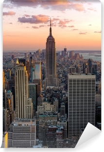 New York Empire state building Vinyl Wall Mural