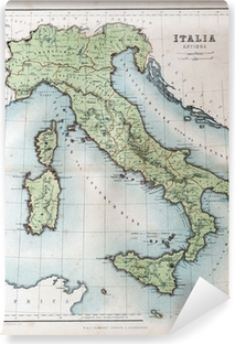 Medieval Map Of Italy.Medieval Map Of Sicily Wall Mural Pixers We Live To Change