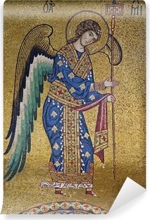 Palerno - Mosaic of Archangel Michael in La Martorana Vinyl Wall Mural