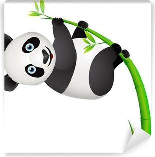 Panda and bamboo tree Vinyl Wall Mural