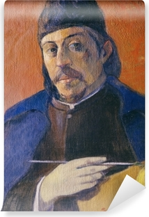 Paul Gauguin - Selfportrait with Palette Vinyl Wall Mural