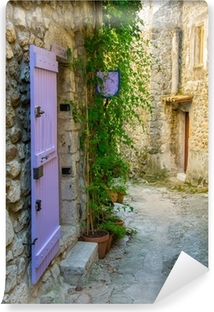 Petite rue pittoresque dans un village de Provence Vinyl Wall Mural