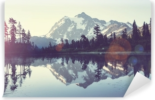 Picturesque lake Vinyl Wall Mural