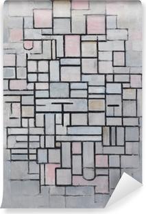 Piet Mondrian - Composition nr 4 Vinyl Wall Mural