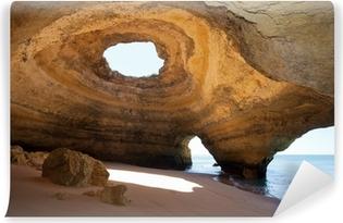 Portugal - Algarve - Benagil - Sea-Caves Vinyl Wall Mural