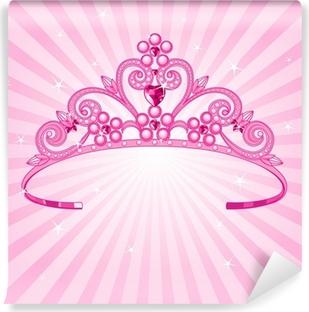 Princess Crown Vinyl Wall Mural
