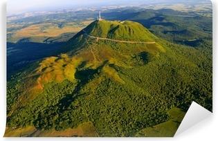 Puy de dome et parc des volcans d'Auvergne Vinyl Wall Mural