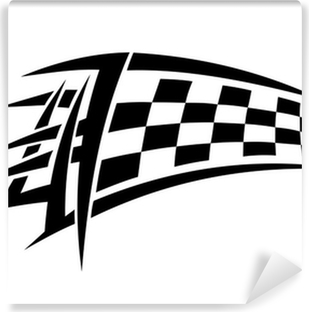 Racing tribal tattoo Vinyl Wall Mural