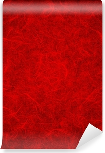 red rice paper Vinyl Wall Mural