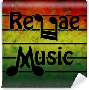 Reggae Music Vinyl Wall Mural