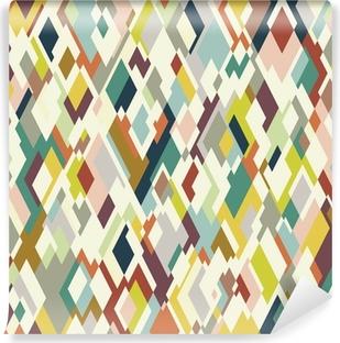 Rhombuses seamless pattern Vinyl Wall Mural