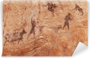 Rock paintings of Tassili N'Ajjer, Algeria Vinyl Wall Mural