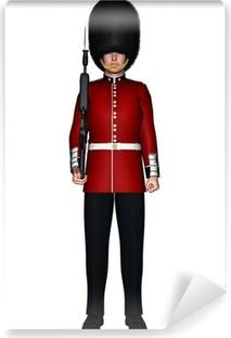 Royal British Guardsman Vinyl Wall Mural