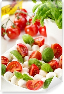 salad with mozzarella and tomatoes Vinyl Wall Mural