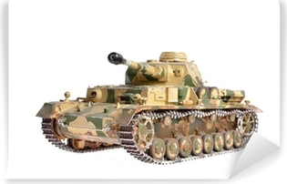 scale model of a german tank from WWII Vinyl Wall Mural