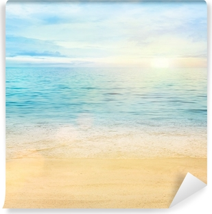 Sea and sand background Vinyl Wall Mural