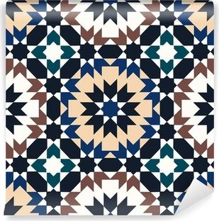 seamless islamic geometric pattern Vinyl Wall Mural