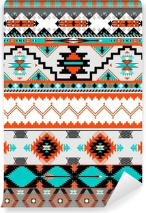 Seamless navaho pattern Vinyl Wall Mural