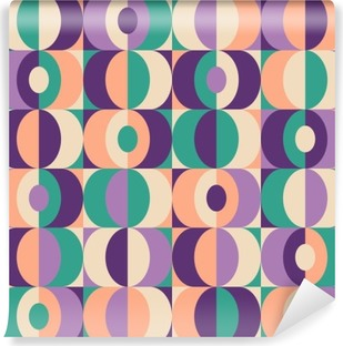 seamless vintage geometric pattern Vinyl Wall Mural
