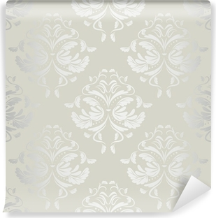 seamless wallpaper.damask pattern.floral background Vinyl Wall Mural