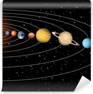 Solar system Vinyl Wall Mural