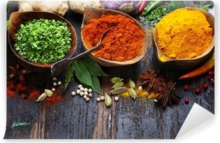 Spices and herbs Vinyl Wall Mural