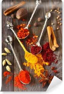 Spices. Vinyl Wall Mural