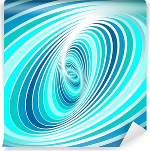 Spiral whirl movement. Abstract background. Vinyl Wall Mural