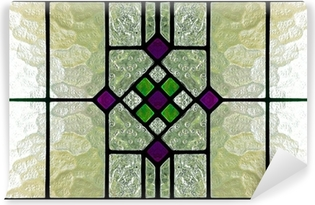 stained glass window Vinyl Wall Mural